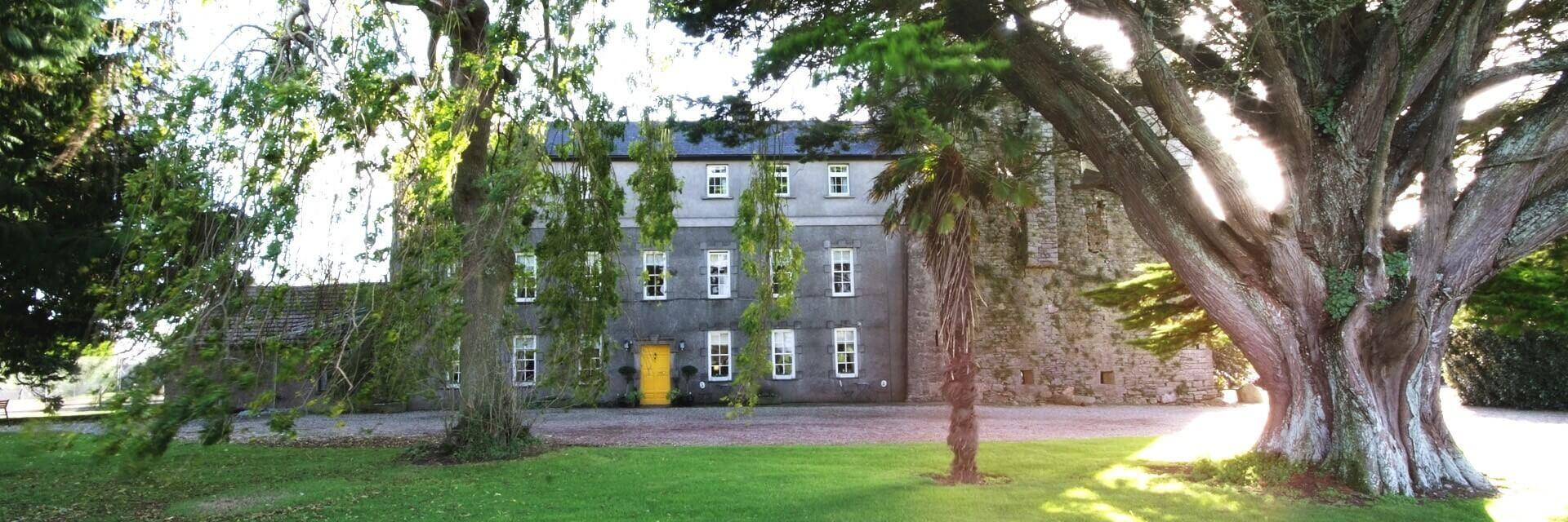 killiane castle - farmhouse accommodation in co. wexford, ireland